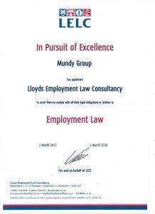 LELC certificate