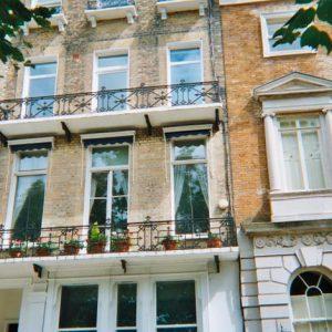 an image of Georgian terraced housing