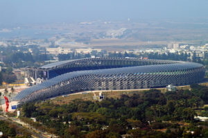 an image of the National Stadium of Tawian
